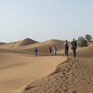 voyage désert en famille