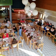 Salle à manger avec enfants