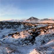 Région ouest en hiver
