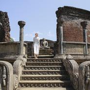 Site archéologique Polonnaruwa au Sri Lanka