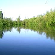 le lac et sa barque à votre disposition